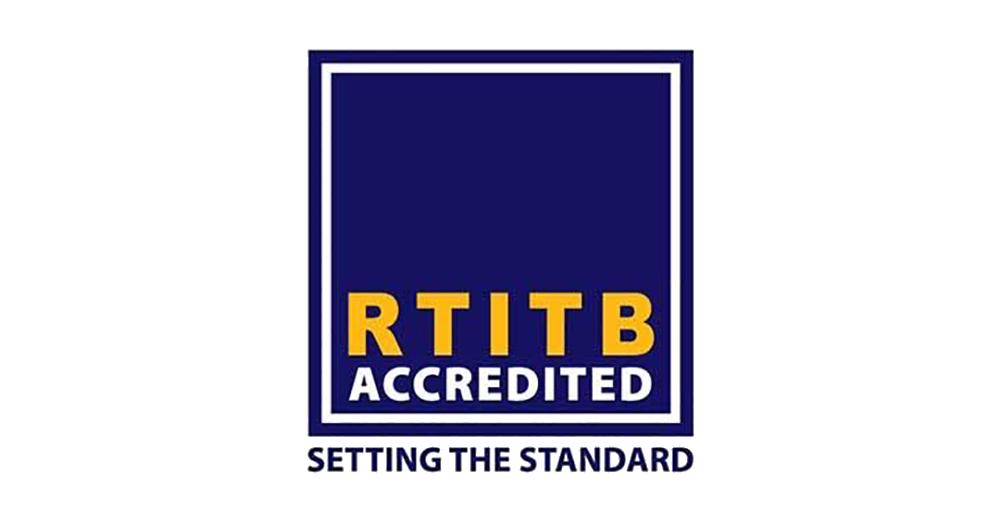 RTITB accredited