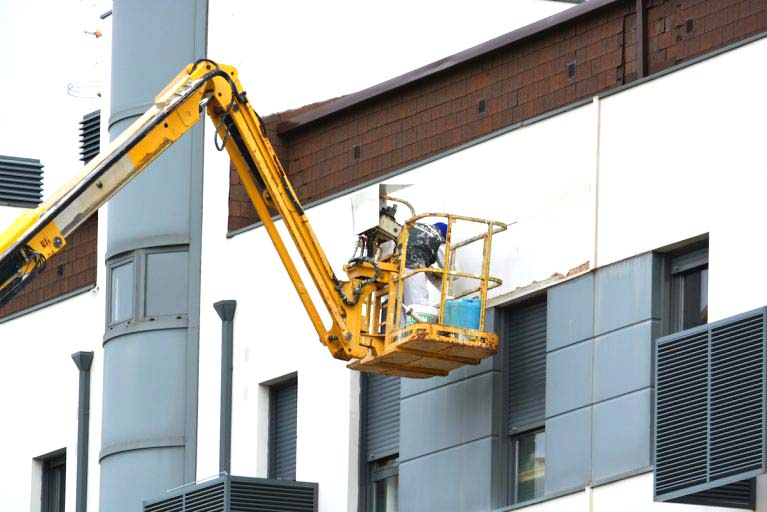 Property Maintenance with cherry picker hire by Operated Access